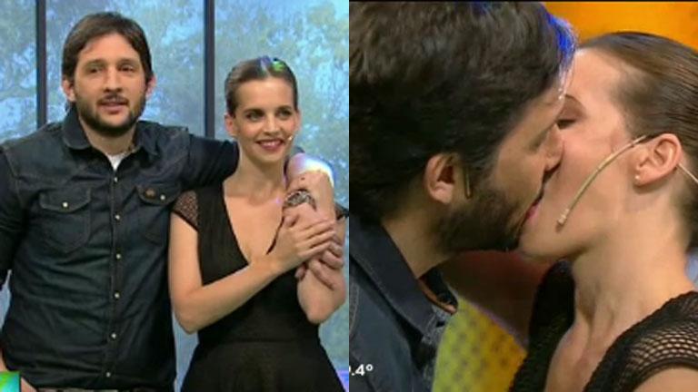 Germán Paoloski y Sabrina Garciarena, apasionados en TV
