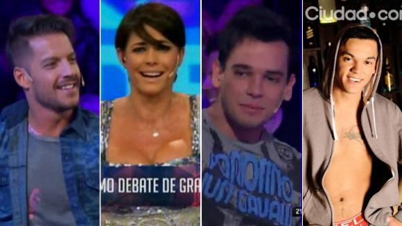El aplausómetro de los fanáticos de Francisco, Matías y Brian Lanzelotta en el último Debate de Gran Hermano