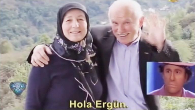 Los papás de Ergün Demir