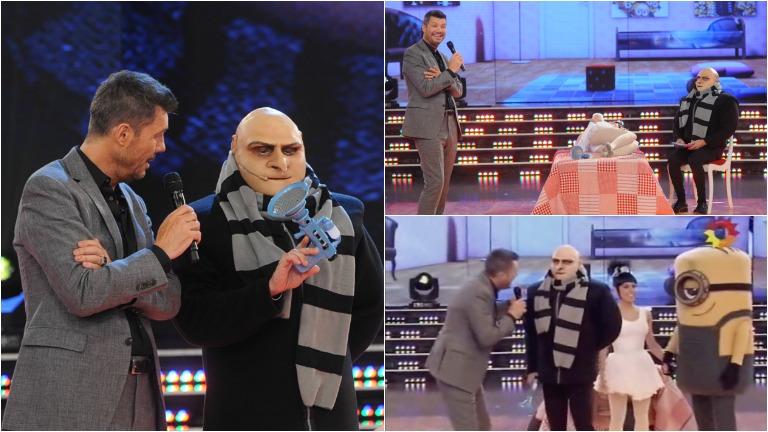 Freddy Villarreal se transformó en Gru de Mi villano favorito en ShowMatch
