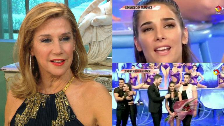 Marcela Tinayre, tras la eliminación de Juana Viale del Bailando: