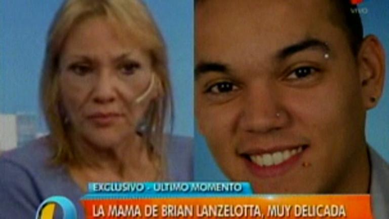 Brian Lanzelotta, preocupado por la delicada salud de su madre: