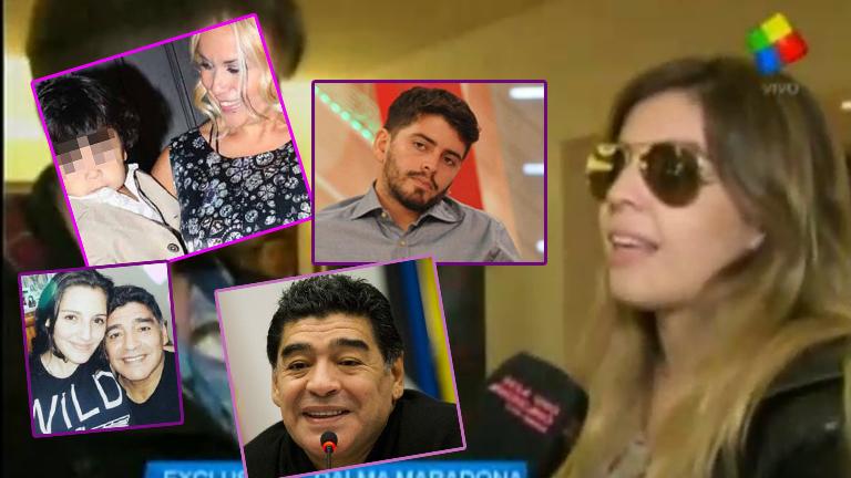 Dalma Maradona habló de todo en Desayuno Americano: Diego Junior, Dieguito Fernando, el cumple de su papá y Verónica Ojeda