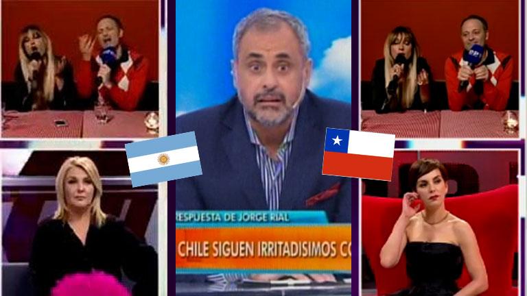 Picantísimo móvil en vivo de Tauro y Tartu en la TV chilena: acusaron a Rial de mafioso… ¡y ardió Troya!