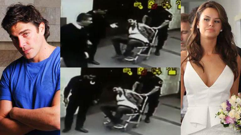 Matías Alé: las impactantes imágenes de la detención policial
