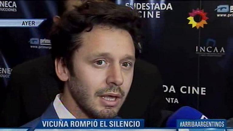 Benjamín Vicuña reflexionó sobre su discusión con Pampita: