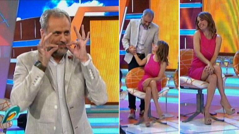 El piropo de Jorge Rial a Marina Calabró tras la filtración de sus fotos hot: