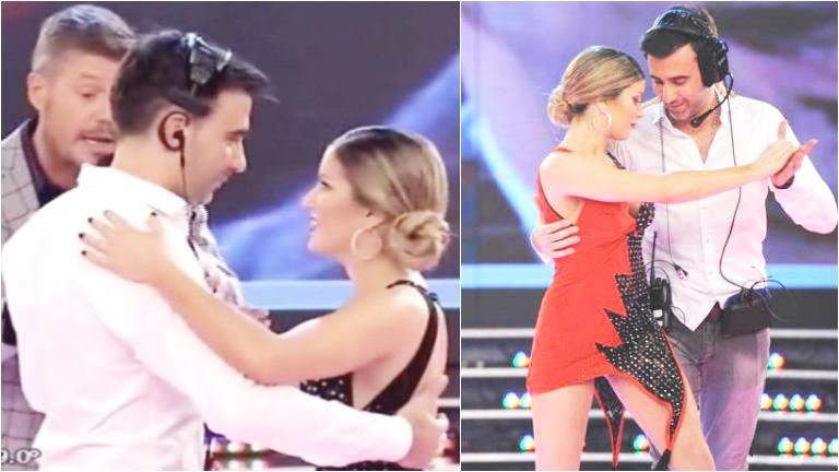 Laurita Fernández y Fede Hoppe bailaron un tango juntos en ShowMatch
