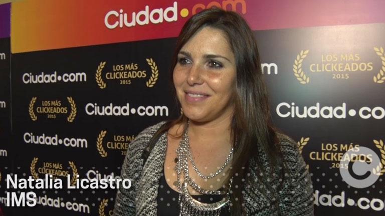 """Natalia Licastro en #LosMasClickeados2015: """"Estamos pensando en nuevos proyectos y artistas"""""""