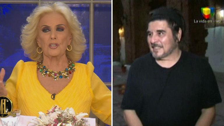 El hijo de Mercedes Sosa se indignó con Mirtha Legrand por el uso de un éxito de la cantante