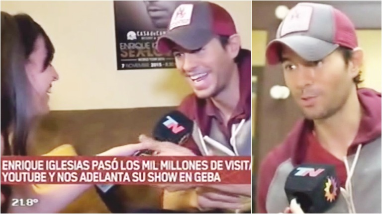 Descubrí cómo se prepara Enrique Iglesias antes de cada show