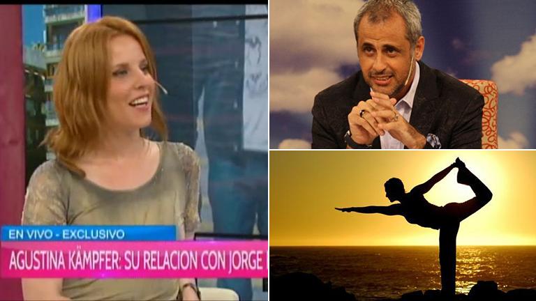 Agustina Kämpfer reveló en Desayuno Americano la nueva actividad de Jorge Rial: