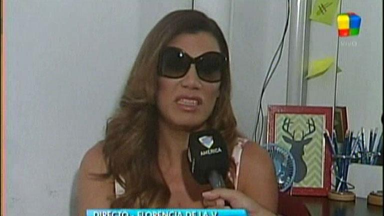 Flor de la Ve le reprochó a Telefe: