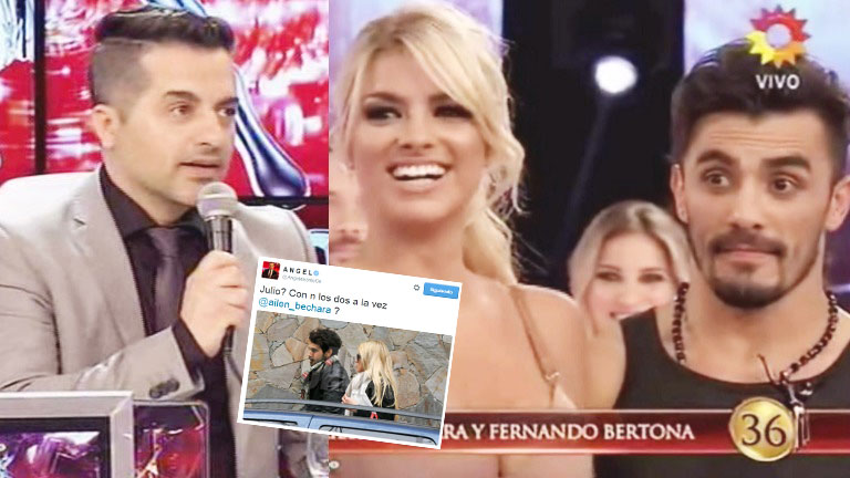 El picante tweet de Ángel de Brito cuando Ailén Bechara dijo que sale con su bailarín desde julio