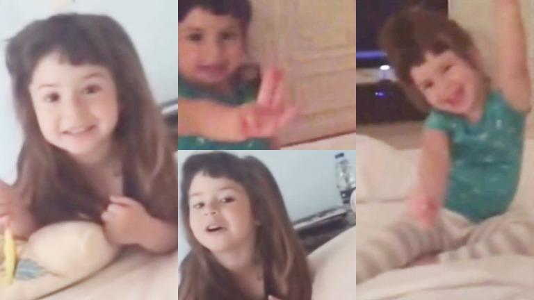 La hija de Griselda Siciliani y Adrián Suar se sumó al hit de El Trece