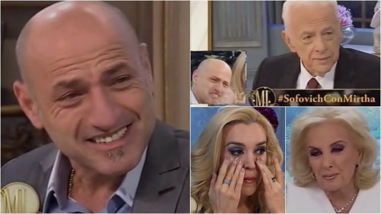 El llanto de Gustavo Sofovich al recordar a su padre