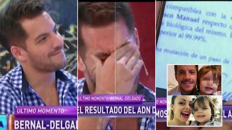 Francisco Delgado, emocionado contó en Infama: