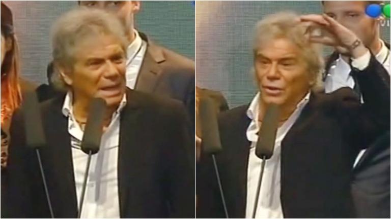 El duro discurso de Beto Casella en los Premios Tato 2015