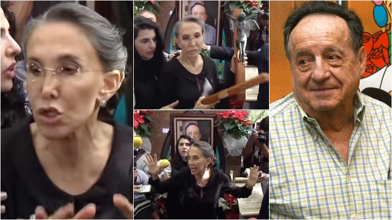 Escándalo en la misa por el aniversario de Chespirito