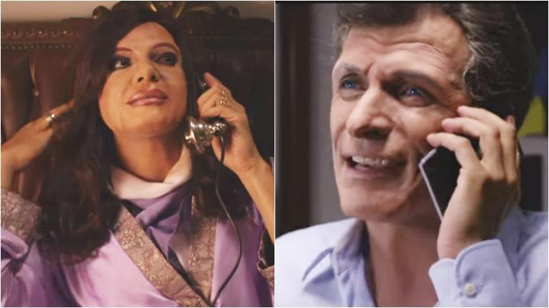 Martín Bossi y una desopilante parodia de la llamada de Macri a Cristina