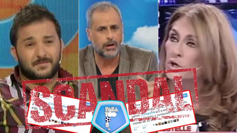 Silvia Fernández Barrio acusó a Brancatelli de recibir una fortuna de la TV Pública y el periodista reveló cuánto gana