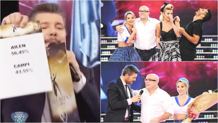 Ailén Bechara eliminó a Campi en ShowMatch