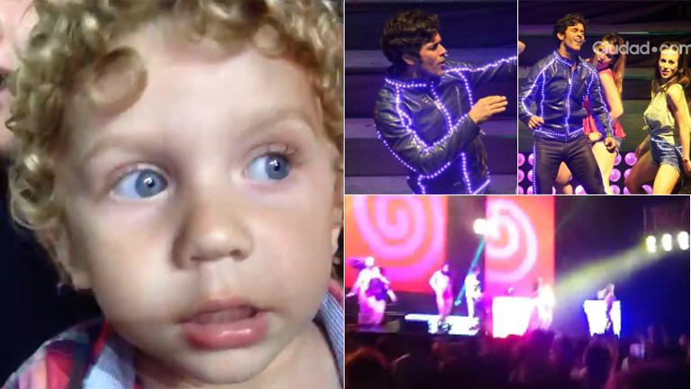 ¡El fan número 1 de Mariano Martínez! Mirá el tierno video de Milo cantando como su papá