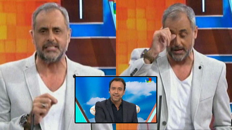 Jorge Rial se descompuso en Intrusos