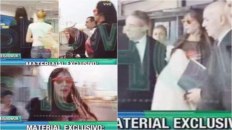 El momento en el que la policía va a buscar a Moria Casán para detenerla en Paraguay