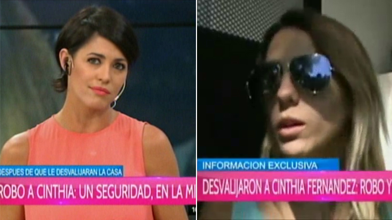Cinthia Fernández lanzó una dura acusación y Pamela David le salió al cruce:
