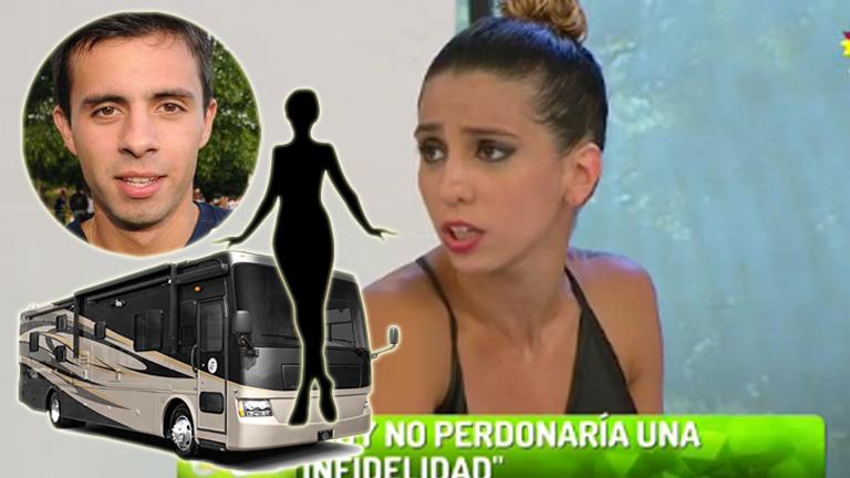 ¿Qué haría Cinthia Fernández si encuentra infraganti a Matías Defederico con una mujer en un motorhome?: