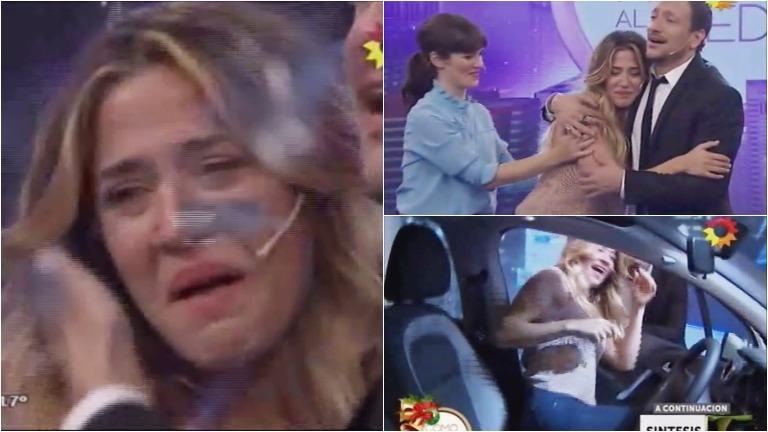 La emoción de Jimena Barón al ganar en Como anillo al dedo