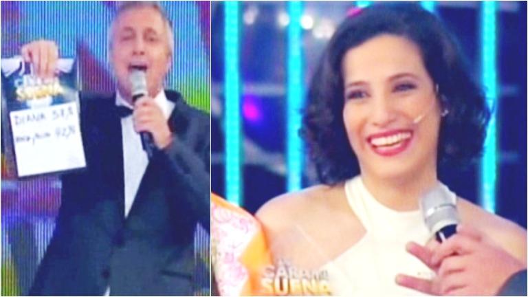 Diana Amarilla es la gran ganadora de Tu cara me suena