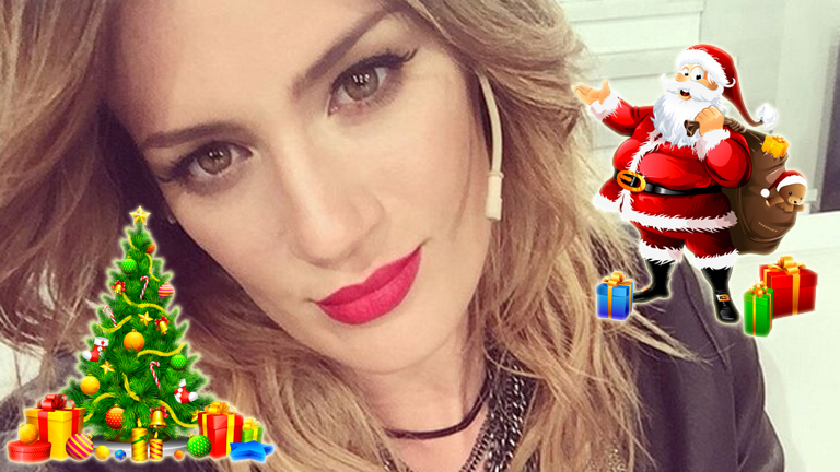 Paula Chaves y un divertido reclamo post Navidad: