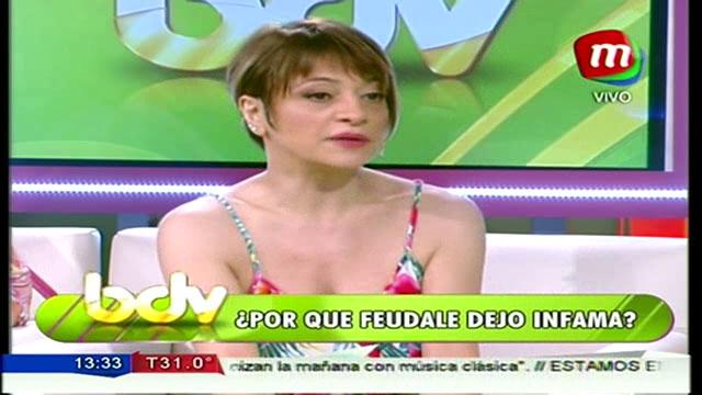 Marcela Feudale explicó su renuncia a Infama en BDV