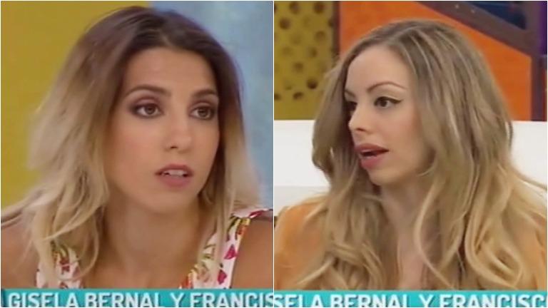 El cruce de Gisela Bernal y Cinthia Fernández en La mesa está lista