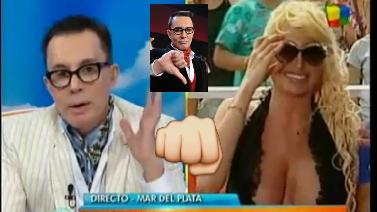 El motivo por el que Marcelo Polino levantó la nota con Vicky Xipolitakis en Intrusos: el video