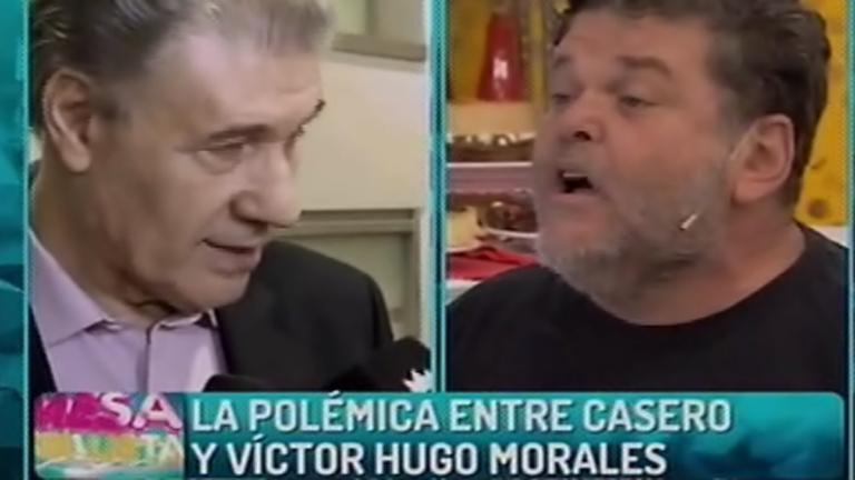 La palabra de Víctor Hugo y la fuerte reacción de Alfredo Casero