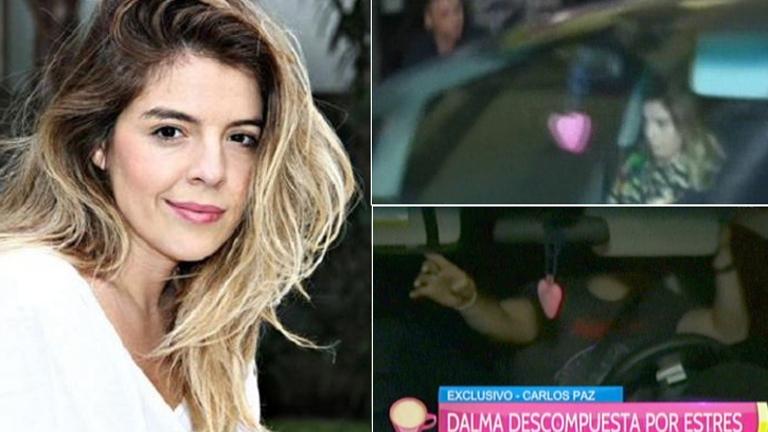 ¡Pequeño susto! Dalma Maradona se sintió mal y su novio la fue a buscar al teatro