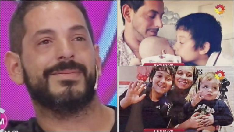 Ariel Diwan se quebró en El diario de Mariana por el cumpleaños de su hijo con Gisela Bernal