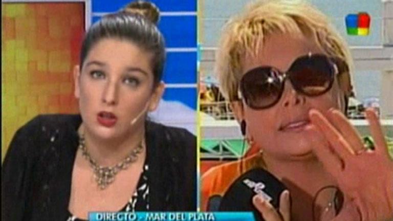 Carmen Barbieri y un tenso momento en vivo con Juana Repetto