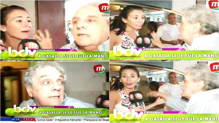 El mal momento que vivió una cronista de BDV con el trato que recibió de Antonio Gasalla