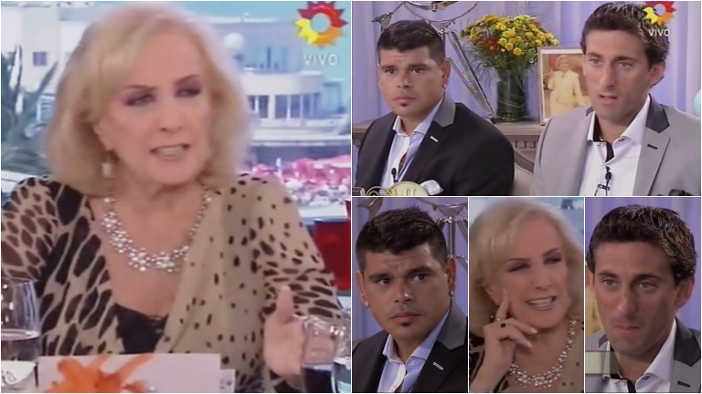 La incómoda pregunta que le hizo Mirtha Legrand a Diego Milito y Gustavo Bou