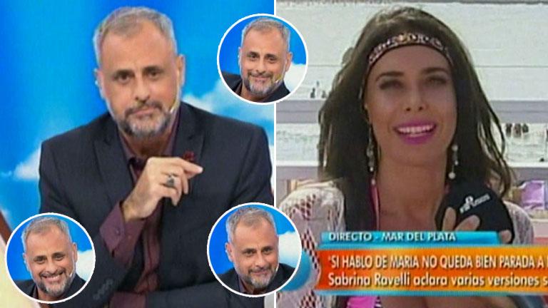 Sabrina Ravelli y una desopilante (y picante) frase para Jorge Rial: