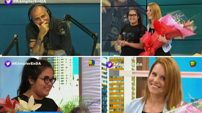 El video de Rocío Rial sorprendiendo a Agustina Kämpfer en Desayuno americano con flores de parte de Jorge
