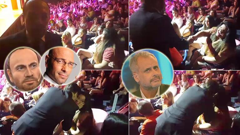 La hija de Rial fue al teatro y cayó en las redes de Onur: mirá el divertido video con provocación para Jorge incluida