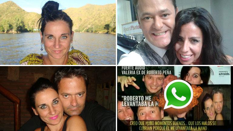 El video con las explosivas acusaciones de la ex de Roberto Peña: