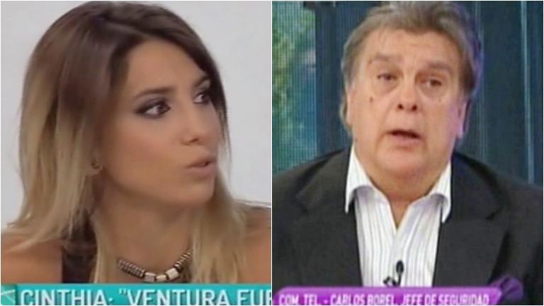 Cinthia Fernández respondió el polémico comentario de Luis Ventura
