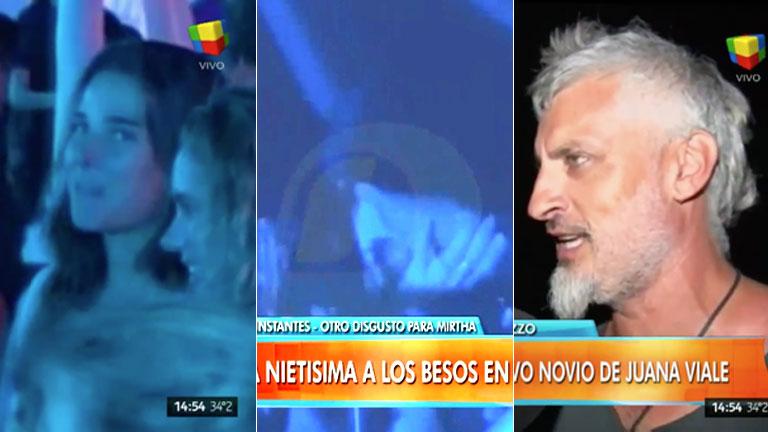 El video de Juana Viale ¿a dos puntas en Cosquín Rock? Empezó relación con el ex de Andrea Rincón… ¡pero se la vio a los besos con un músico!