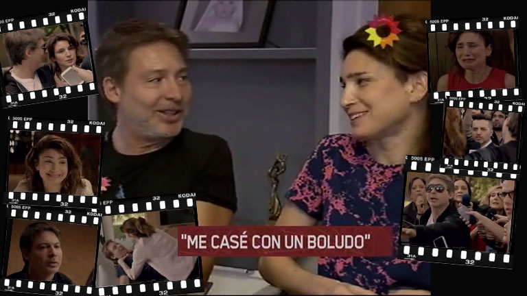 Adrián Suar y Valeria Bertucelli, una dupla exitosa de la pantalla grande: